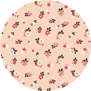 Design by Dani for Riley Blake, Vintage Daydream, Vintage Floral Pink