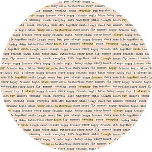 Design by Dani for Riley Blake, Vintage Daydream, Vintage Words Pink