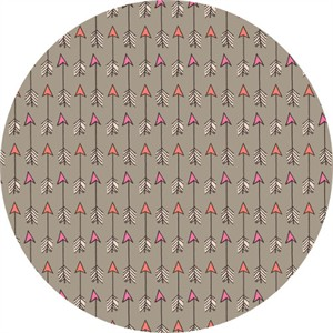 Camelot Fabrics, Wilderness, Arrows Light Taupe