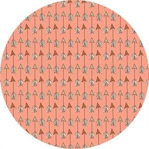 Camelot Fabrics, Wilderness, Arrows Peach