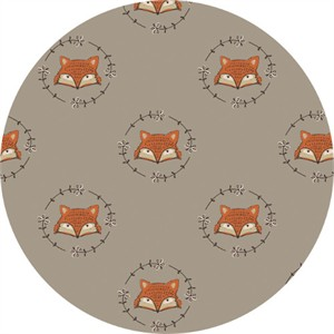 Camelot Fabrics, Wilderness, Fox Light Taupe