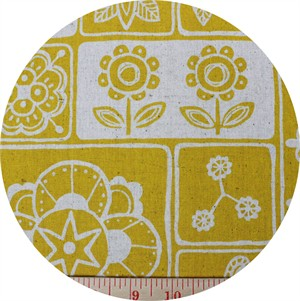 Westex, CANVAS, Floral Geo Lemon