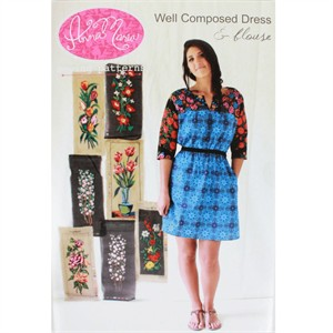 Sewing Pattern, Anna Maria, Well Composed Dress & Blouse