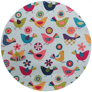 Westex, Print, Printed Birds Aqua
