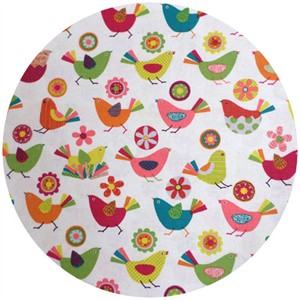 Westex, Print, Printed Birds White