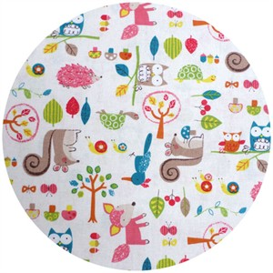 Westex, Print, Printed Woodland Critters White