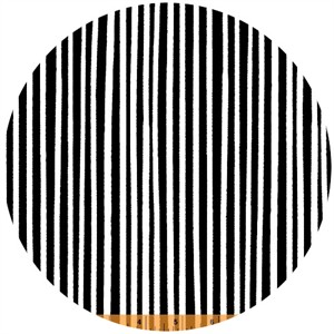 Windham Fabrics, 8 Days a Week, Stripe Black and White