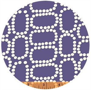 Windham Fabrics, Downtown, Dotten Ovals Purple