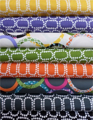Windham Fabrics, Downtown, Entire Collection in FAT QUARTERS 8 Total (PRE-CUT)