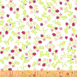 Windham Fabrics, Enchanted, Scatter Pink
