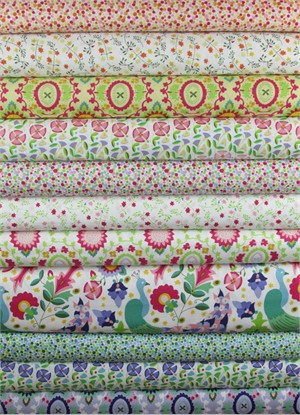 Windham Fabrics, Enchanted in FAT QUARTERS 10 Total