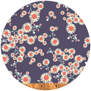 Windham Fabrics, Garden Party Tango, Asters Charcoal