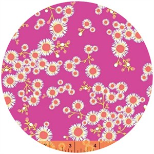 Windham Fabrics, Garden Party Tango, Asters Fuchsia