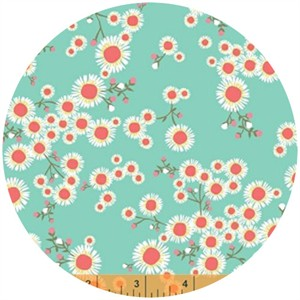 Windham Fabrics, Garden Party Tango, Asters Sky