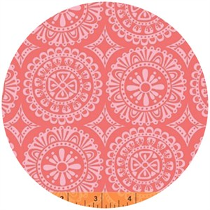 Windham Fabrics, Garden Party Tango, Doilies Pink