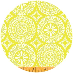 Windham Fabrics, Garden Party Tango, Doilies Yellow