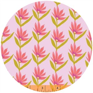 Windham Fabrics, Garden Party Tango, Flower Wave Pink