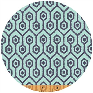 Windham Fabrics, Garden Party Tango, Meander Sky Blue