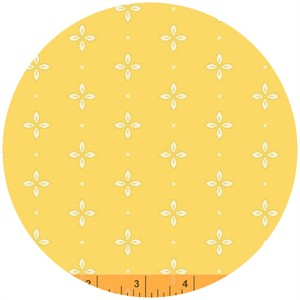 Windham Fabrics, Wallflowers, Foulard Yellow