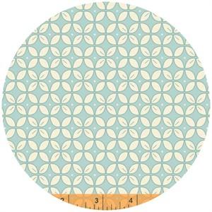Windham Fabrics, Wallflowers, Petal Foulard Aqua