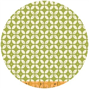 Windham Fabrics, Wallflowers, Petal Foulard Green