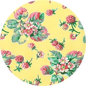 Verna Mosquera for Free Spirit, Fruta Y Flor, Wild Raspberries Lemon