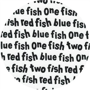 Robert Kaufman, One Fish Two Fish, Wording White