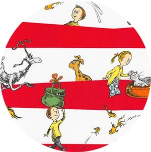 Robert Kaufman, Dr. Seuss What Pet Should I Get?, Stripe Red