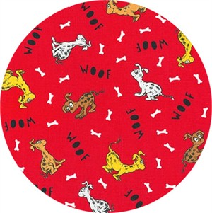 Robert Kaufman, Dr. Seuss What Pet Should I Get?, Woof Red