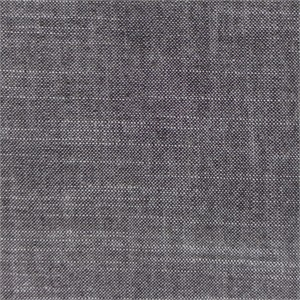AVAILABLE FOR PREORDER, , Birch Organic Fabrics, Yarn-Dyed Chambray, Black