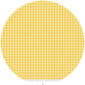 Zoe Pearn for Riley Blake, The Sweetest Thing, Dots Yellow