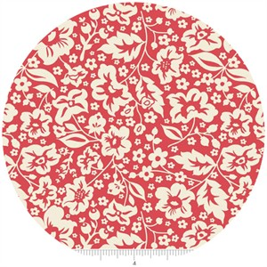Zoe Pearn for Riley Blake, The Sweetest Thing, Floral Red