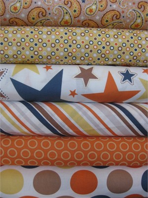 Zoe Pearn, Super Star, Multi in FAT QUARTERS 6 Total