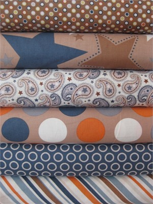 Zoe Pearn, Super Star, Tan in FAT QUARTERS 6 Total