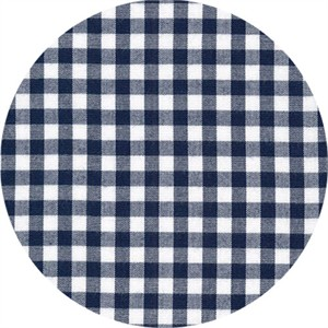 "Robert Kaufman, Carolina Gingham 1/4"", Navy"