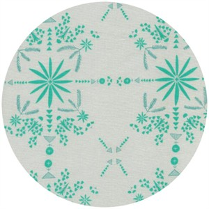 Alexia Marcelle Abegg for Cotton and Steel, Paper Bandana, Bandana Turquoise
