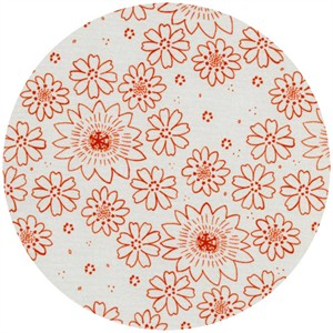 Alexia Marcelle Abegg for Cotton and Steel, Paper Bandana, Posy Copper