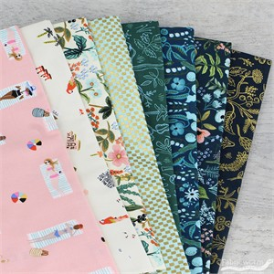 Rifle Paper Co. for Cotton and Steel, Amalfi, Coastal 5 Total