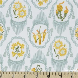 COMING SOON, Rae Ritchie for Dear Stella, Llama Lands, Andes Flowers White