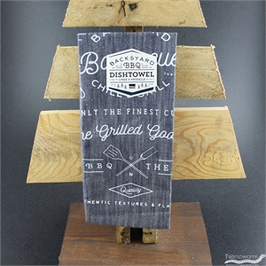 Backyard Barbecue Renew Dishtowel