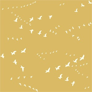 Birch Organic Fabrics, Birch Basics, Flight Golden