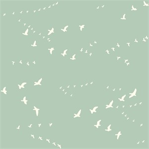 Birch Organic Fabrics, Birch Basics, Flight Mint