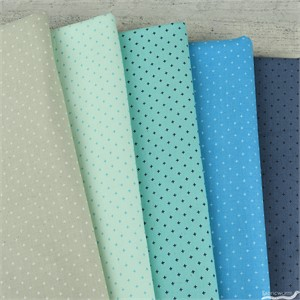 Cotton and Steel, Basics, Beachy Blues in FAT QUARTERS 5 Total