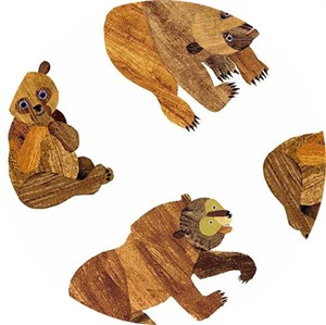 Eric Carle for Andover, Beary Happy, Beary Many Bears White