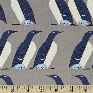 COMING SOON, Charley Harper for Birch Organic Fabrics, Best Of, Murre