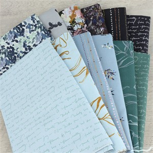 Kelly Ventura for Windham, Botany, Blues in FAT QUARTERS 12 Total