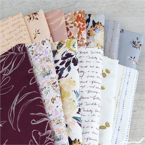 Kelly Ventura for Windham, Botany, Peachy in FAT QUARTERS 13 Total (PRECUT)
