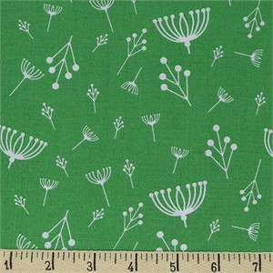 COMING SOON, Charley Harper for Birch Organic Fabrics, Best Of, Twigs Green