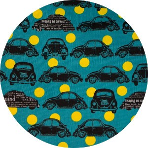 Japanese Import, CANVAS, Bug Dot Yellow
