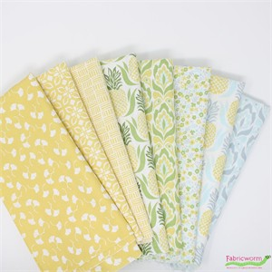 Kate Spain for Moda, Bungalow in FAT QUARTERS 8 Total